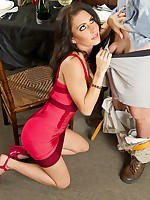 Jessica Jaymes blowjob and hardcore