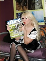 Classic Nylon Tease presents....